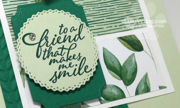 This Friend Card Has Leaves!