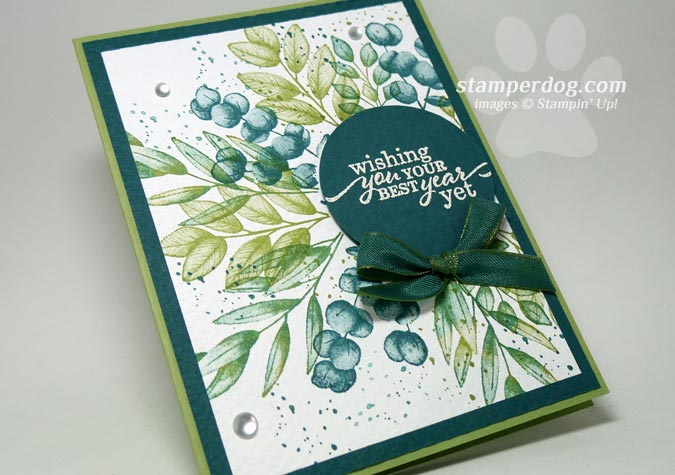 I Love This Greenery Card!