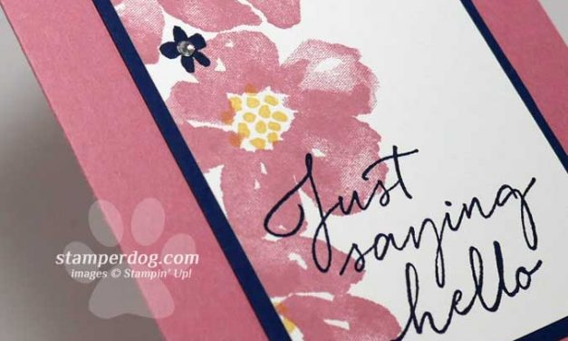 Using a Stamp Positioner to Save Time Cardmaking