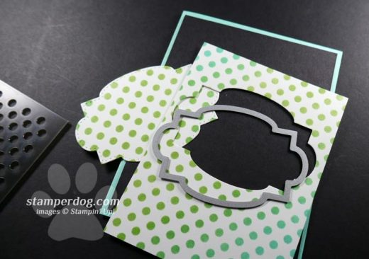 Polka Dotted Card