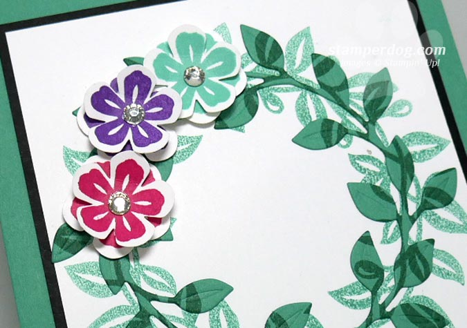 Let's Make a Thank You Card with a Wreath!