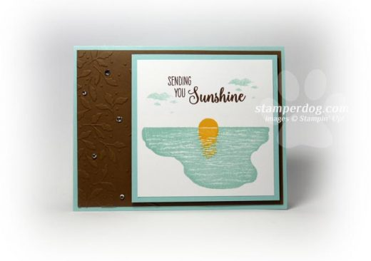 Sunshine Sympathy Card