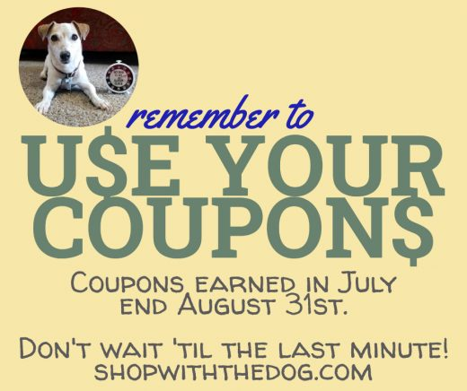 Use Your Coupons!
