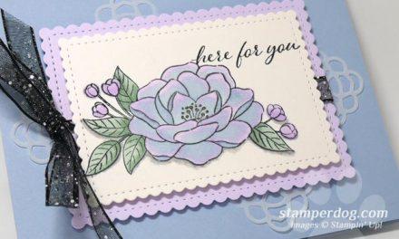 Iridescent Watercolor Rose