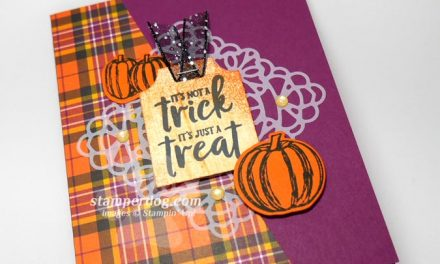 Easy Trick or Treat Card