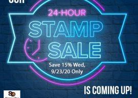 24 Hour Stamp Sale Starts @ Midnight Tonight