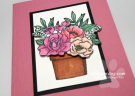 Making a Floral Note Card
