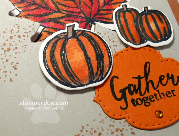 Making a Fall Invitation