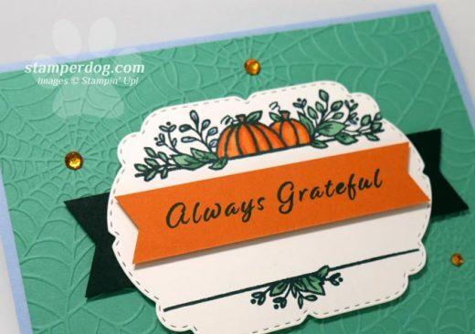 Grateful Pumpkin Card