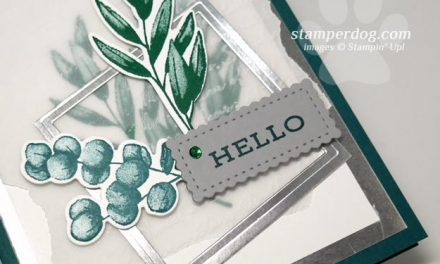 Making a Card from Scraps