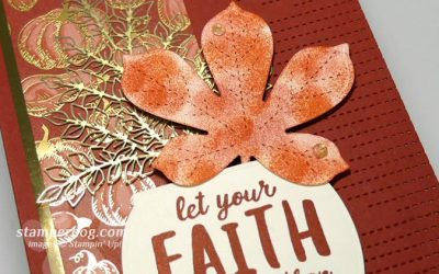 Finishing the Fall Faith Card