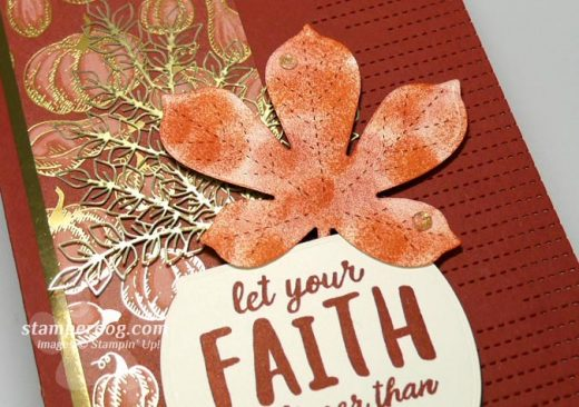 Fall Faith Card