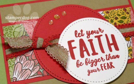 Triangle Faith Card