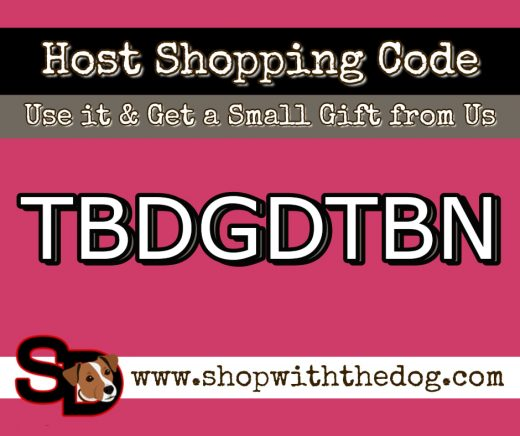 Use the Host Code when you shop