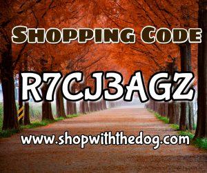 Shopping Code R7CJ3AGZ