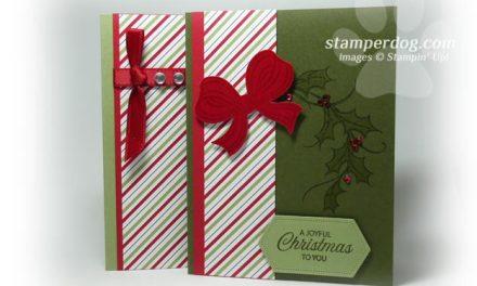 Basic to Beautiful Christmas Cards