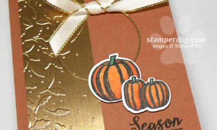 Sharing a Elegant Fall Card