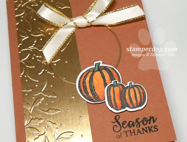 Sharing a Elegant Fall Card