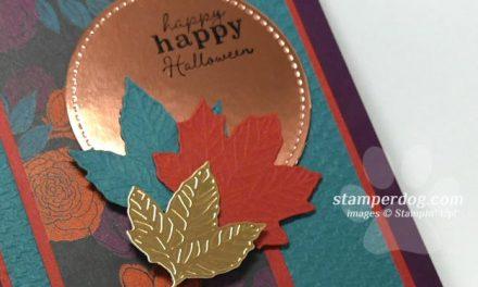 Making an Elegant Halloween Card