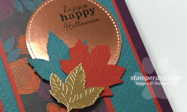 Making an Elegant Halloween Card