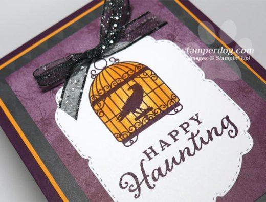 Glowing Halloween Card