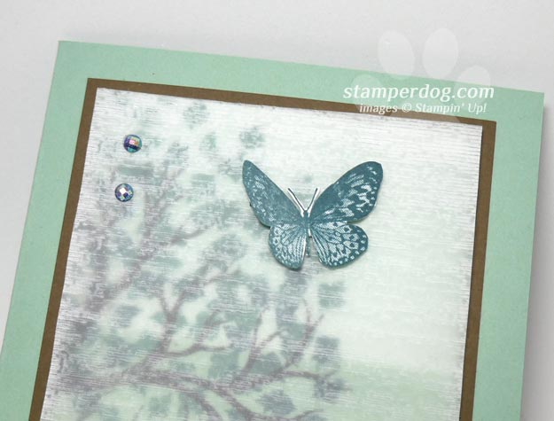 Textured Vellum Scenery Card