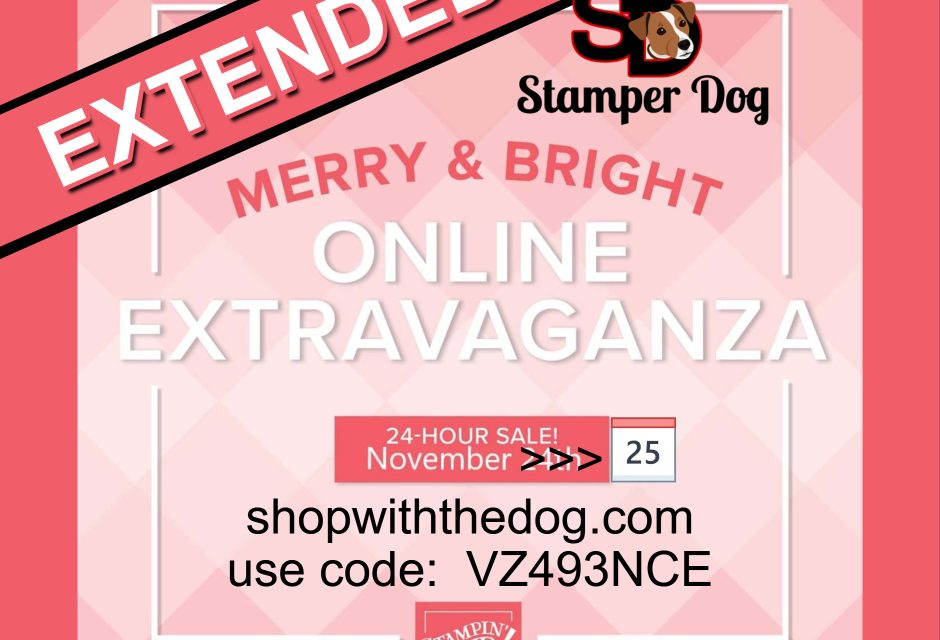 Sale Extended But Must End Tonight