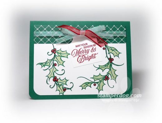 2 Step Christmas Card
