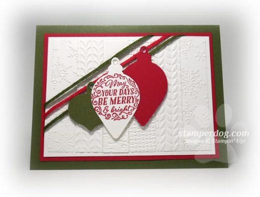 Pieced Christmas Card