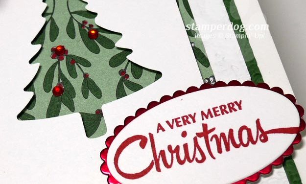 Making a Christmas Tree Card