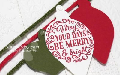 Pieced Christmas Card Making