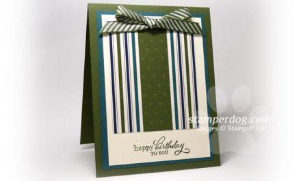 Masculine Birthday Gift Card