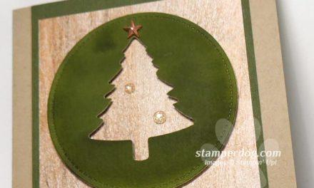 I Love This Christmas Tree Card