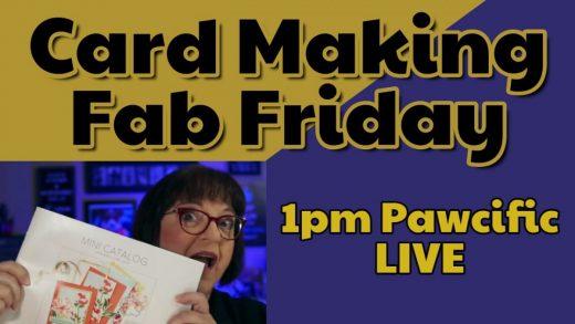 Fab Friday Card Making