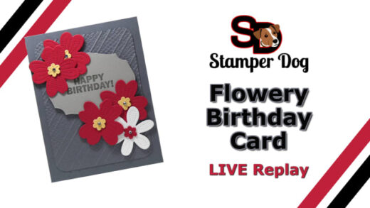 Flowery Birthday Card
