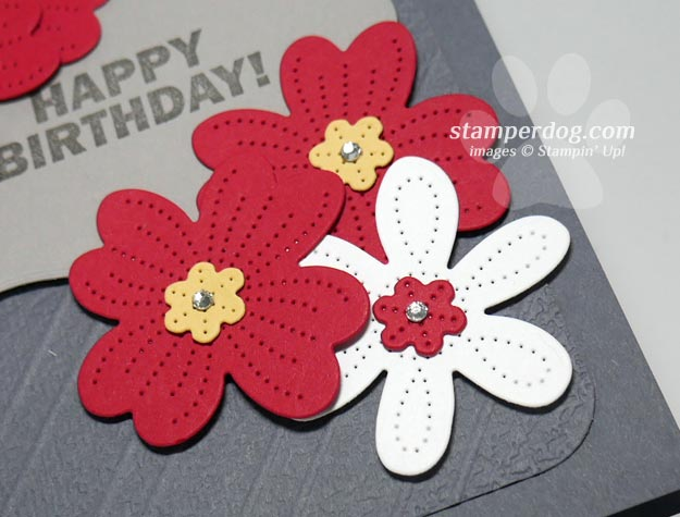 Making a Flowery Birthday Card
