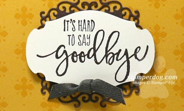 Saying Goodbye is Hard