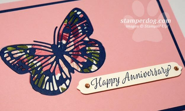 We're Making an Easy Inlaid Butterfly Card Today