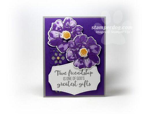 Purple Friend Card