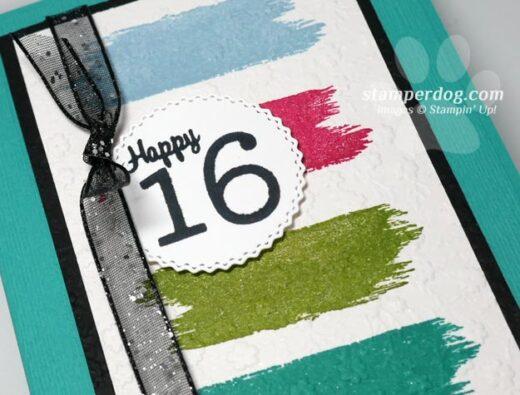 16th Birthday Card