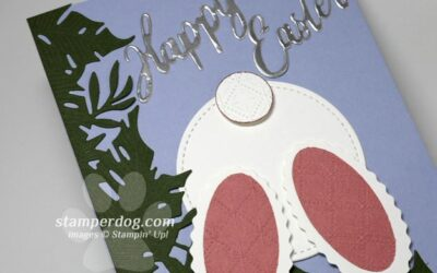 Making an Easter Bunny Card