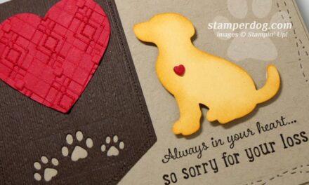 Making a Pet Sympathy Card