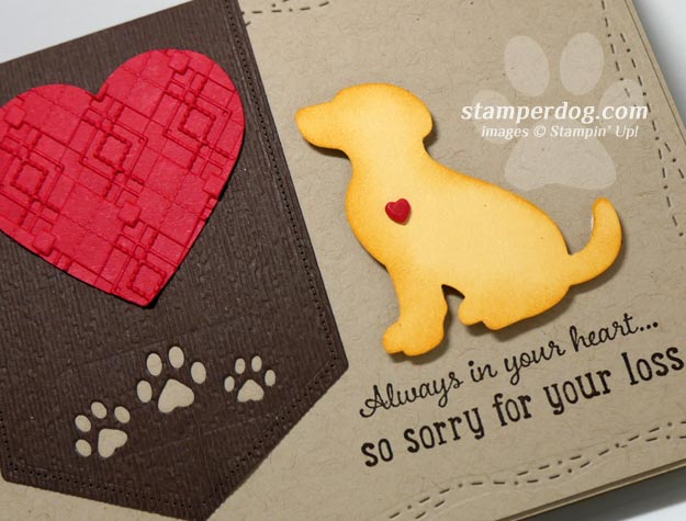 Making a Pet Sympathy Card