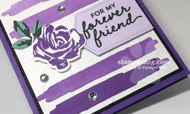 Shades of Purple Card