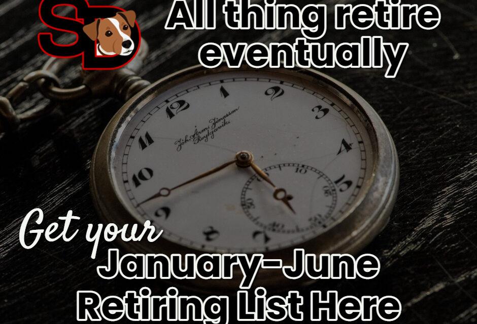 Score on the Mini Retiring List