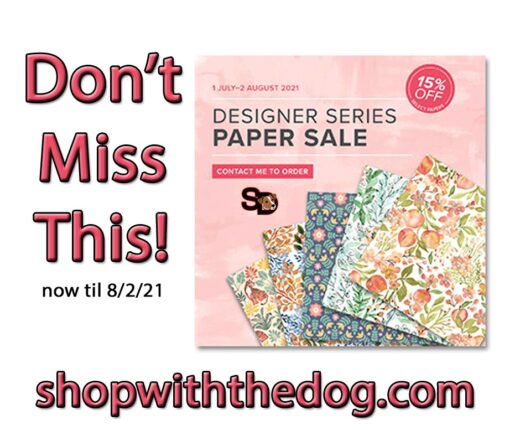 15% off patterned paper