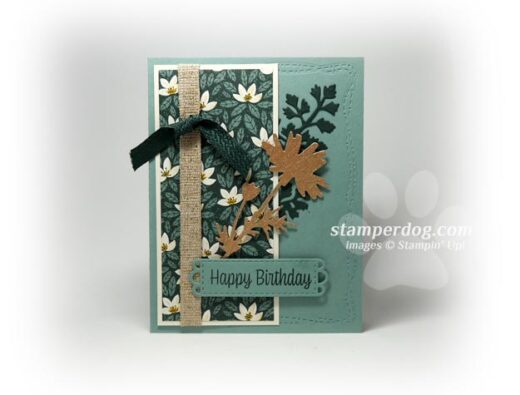 Floral Silhouette Card