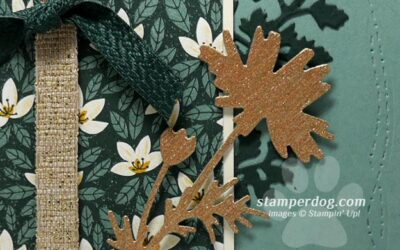 Pretty Floral Silhouette Card