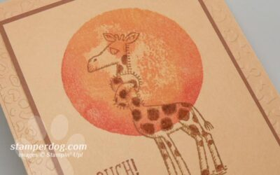 Fun Giraffe Get Well Card