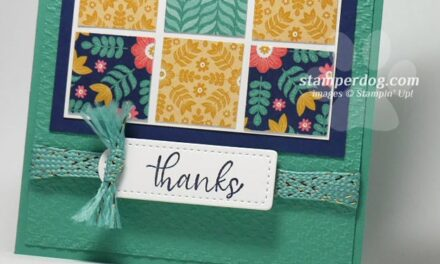 Making a Quilt Card
